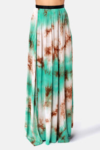 Gypsy Junkies Oceana High Slit Tie-Dye Maxi Skirt at Lulus.com!