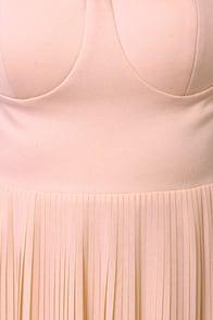 Blaque Label Aurora Peach Maxi Dress at Lulus.com!