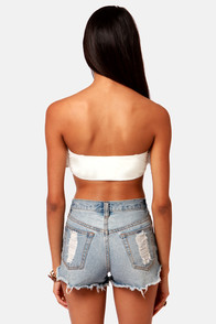 Huntingbird Anglais Bandeau Top at Lulus.com!