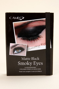 Cameo Matte Black Smoky Eyes Kit at Lulus.com!
