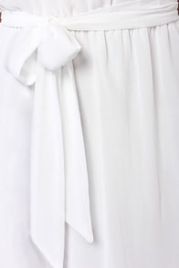 Mermaid in Heaven Strapless White Maxi Dress at Lulus.com!