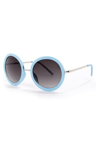 Final Re-Vision Light Blue Sunglasses at Lulus.com!