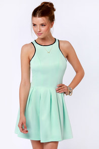 Partner in Crime Mint Dress at Lulus.com!