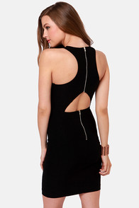 LULUS Exclusive Breaking Curve-few Black Dress at Lulus.com!