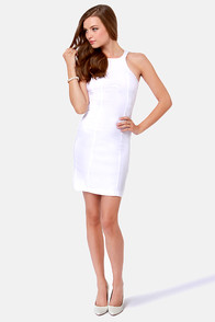 LULUS Exclusive Breaking Curve-few White Dress at Lulus.com!