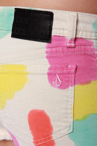 Volcom High Voltage Multi Dye Print Shorts at Lulus.com!