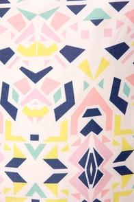 Shape-erd's Pie Backless Print Dress at Lulus.com!