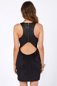 Ladakh Bulletproof Black Body-con Dress at Lulus.com!