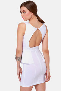 Look at This Mesh White Dress at Lulus.com!