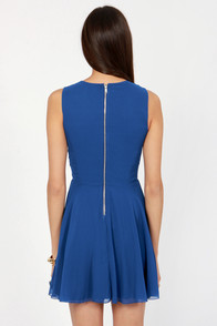 TFNC Hope Royal Blue Beaded Dress at Lulus.com!