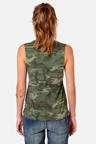 Obey Eplucobra Camo Print Muscle Tee at Lulus.com!