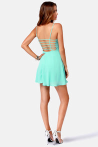 Haute Attack Sky Blue Dress at Lulus.com!