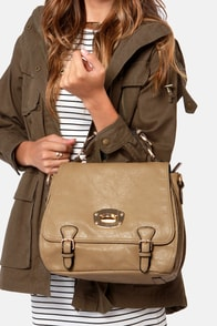 Panache and Carry Taupe Handbag by Urban Expressions at Lulus.com!