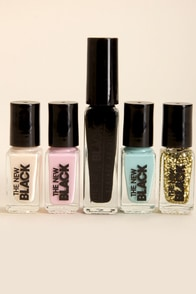 The New Black Digital Underground Shibuya Nail Polish Set at Lulus.com!