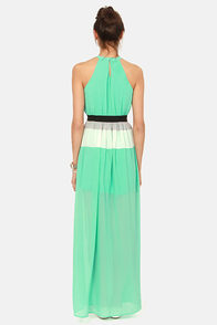 Trick or Pleat Mint Green Maxi Dress at Lulus.com!