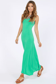 Sing A-long Teal Maxi Dress at Lulus.com!