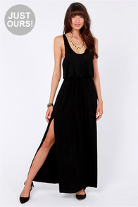 LULUS Exclusive Most Wanted Black Maxi Dress at Lulus.com!