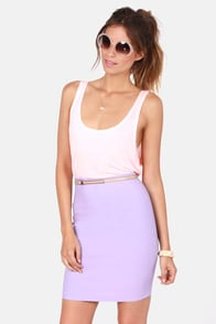 Pencil You In Lavender Pencil Skirt at Lulus.com!