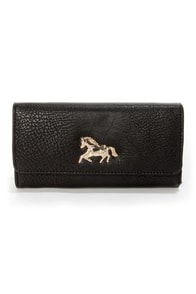 Critter-Sweet Black Wallet at Lulus.com!