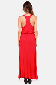 LULUS Exclusive Most Wanted Red Maxi Dress at Lulus.com!