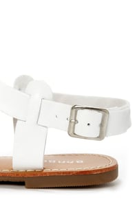 Bamboo Warner 14 White Strappy Gladiator Sandals at Lulus.com!