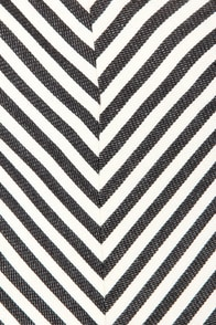 Costa Blanca I-Zig Newton Black Chevron Print Shorts at Lulus.com!
