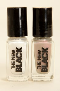 The New Black Ghost Story Nail Jewels and Polish Set at Lulus.com!