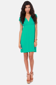 Love Has Arrived Teal Dress at Lulus.com!