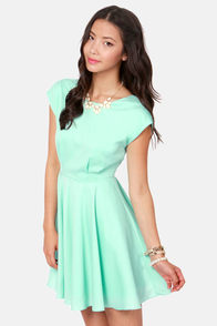 Blaque Label True Love Mint Blue Dress at Lulus.com!