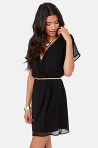 Mighty Aphrodite Black Dress at Lulus.com!