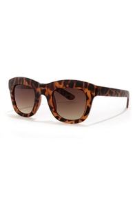 Cinema Tortoise Sunglasses at Lulus.com!