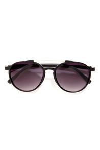 Weinstein Matte Black Sunglasses at Lulus.com!