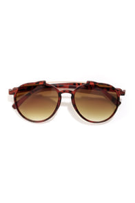 Weinstein Matte Tortoise Sunglasses at Lulus.com!