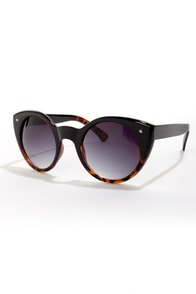 Lady Luck Black and Tortoise Sunglasses at Lulus.com!