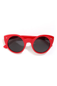 Lady Luck Red Sunglasses at Lulus.com!