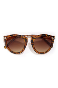 Goucher Tortoise Sunglasses at Lulus.com!