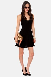 Your Doily Horoscope Crocheted Black Dress at Lulus.com!
