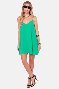 Princess Beach Sea Green Shift Dress at Lulus.com!
