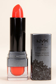 NYX Black Label Citrine Red-Orange Lipstick at Lulus.com!