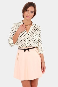 Win the Spot-ery Cream Polka Dot Top at Lulus.com!