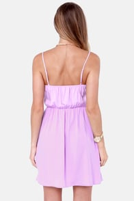 Baking Beauty Lavender Dress at Lulus.com!