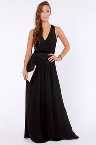 LULUS Exclusive The Great Maxi Black Maxi Dress at Lulus.com!