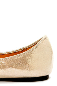 Talia 02 Silver Metallic Pointed Flats at Lulus.com!