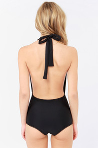 Mandalynn Betty Black One Piece Swimsuit at Lulus.com!