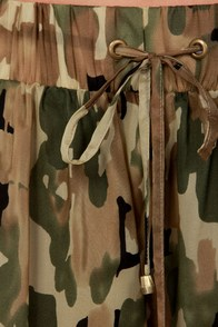 Military Time Camo Print Shorts at Lulus.com!