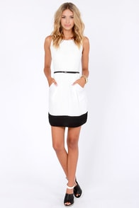 LULUS Exclusive The Good Life Black and White Dress at Lulus.com!