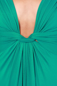 Grand Central Sensation Teal Maxi Dress at Lulus.com!