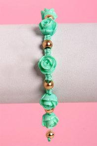 Lana Del Rose Mint Green Friendship Bracelet at Lulus.com!