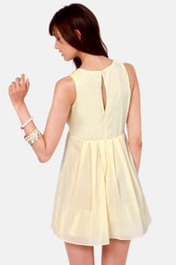 TFNC Dito Beaded Cream Dress at Lulus.com!