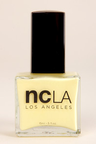 NCLA Tennis Anyone? Yellow Nail Lacquer at Lulus.com!